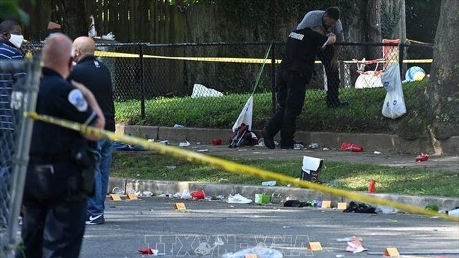 21 người bị thương vong trong vụ nổ súng ở Washington, Mỹ