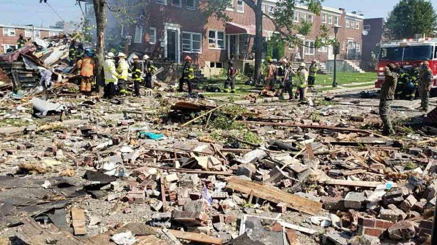 Nổ lớn ở Mỹ san phẳng nhiều ngôi nhà, 1 người thiệt mạng