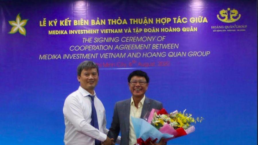 Hoàng Quân hợp tác với Medika Investment Việt Nam phát triển chuỗi hệ thống bệnh viện quốc tế