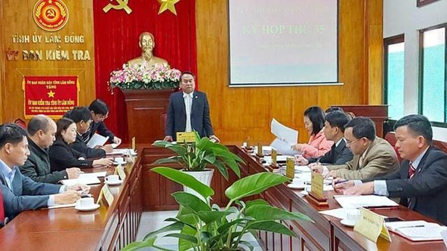 Kỷ luật ông Đoàn Xuân Sơn, Giám đốc Sở Tư pháp tỉnh Lâm Đồng