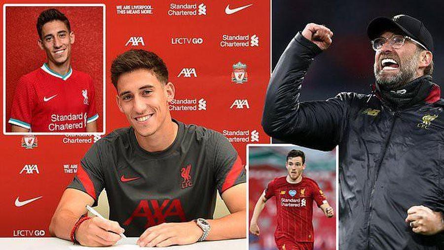 Liverpool chính thức công bố bản hợp đồng mới