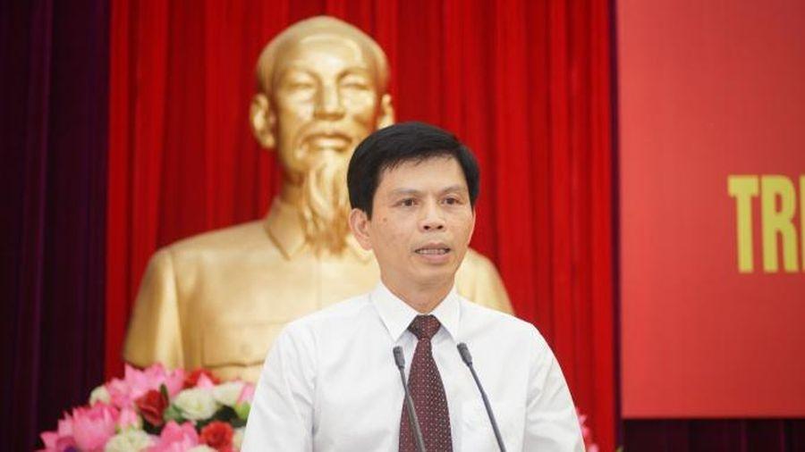 Thứ trưởng Lê Anh Tuấn làm Bí thư Đảng ủy Bộ GTVT