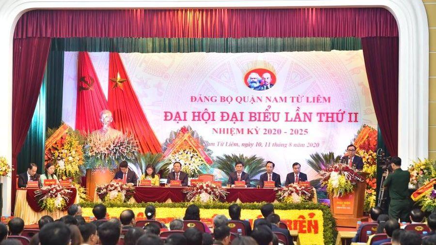 Khai mạc Đại hội đại biểu Đảng bộ quận Nam Từ Liêm lần thứ II