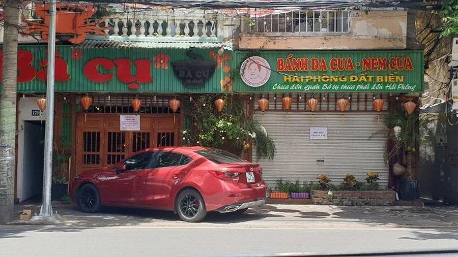 Hải Phòng đóng cửa quán ăn trên phố Cầu Đất, phun khử trùng các tuyến phố chính