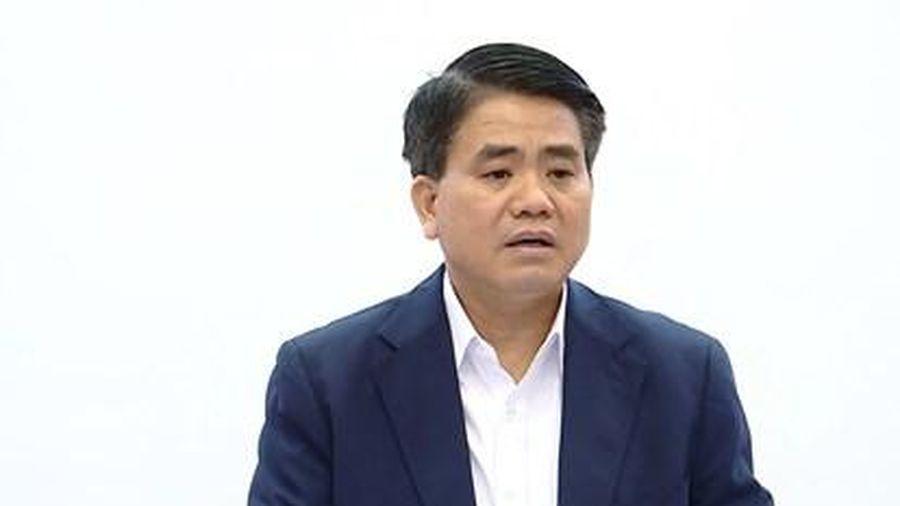 Tạm đình chỉ công tác Chủ tịch UBND TP. Hà Nội Nguyễn Đức Chung