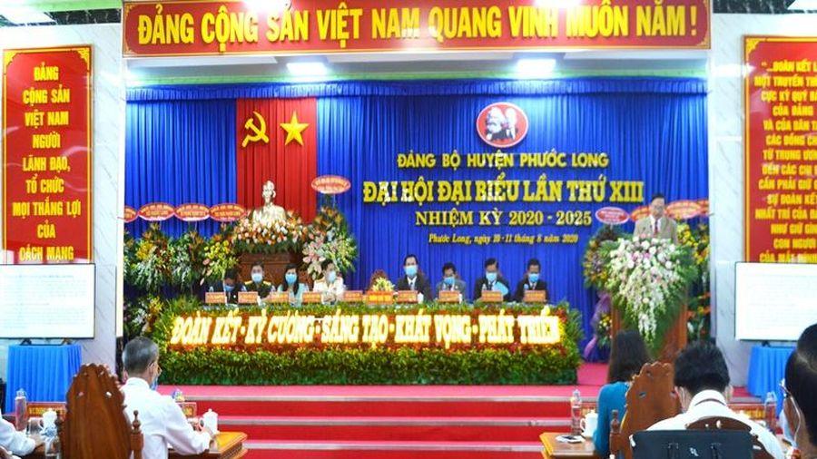 Đại hội Đảng bộ huyện Phước Long (Bạc Liêu)