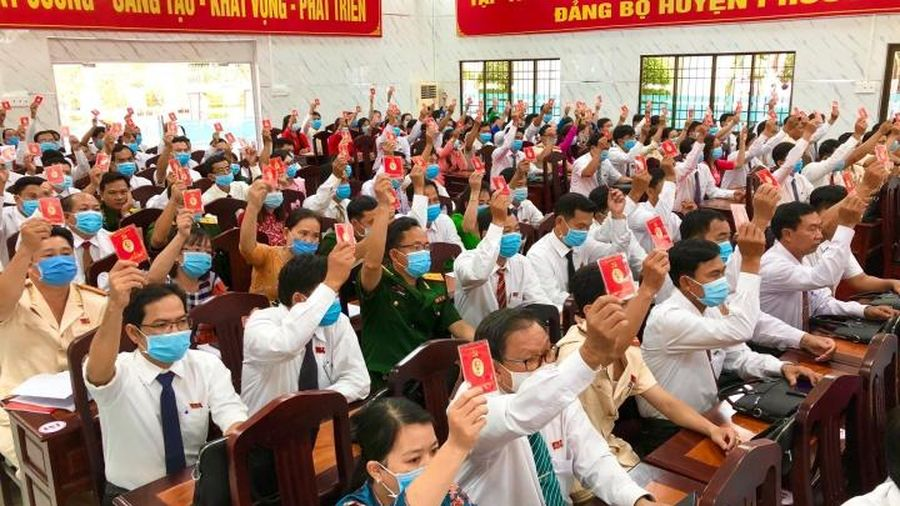 Bế mạc Đại hội Đảng bộ huyện Phước Long (Bạc Liêu)