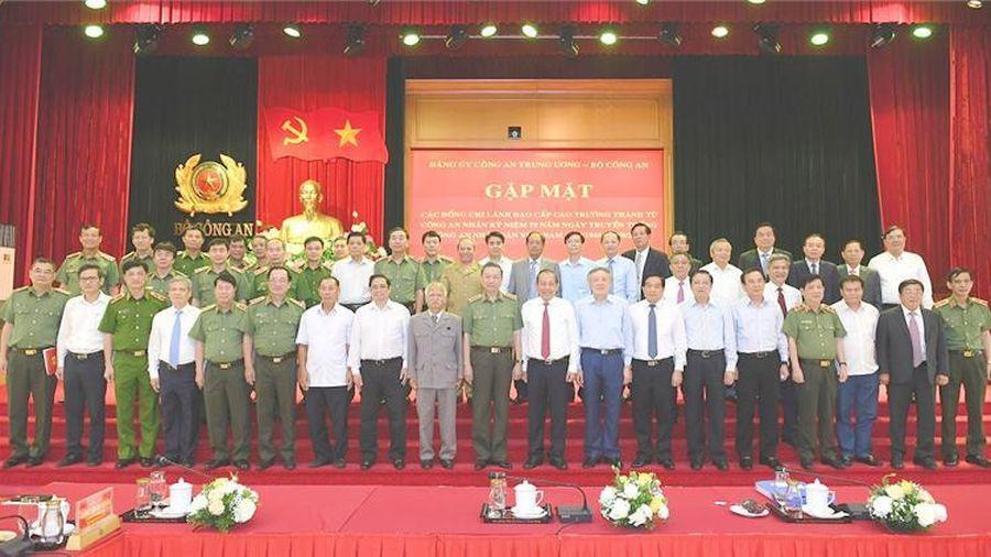 Gặp mặt lãnh đạo cấp cao trưởng thành từ lực lượng Công an nhân dân