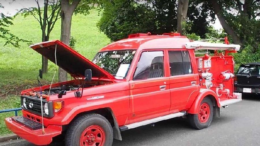 'Soi' xe Toyota Land Cruiser cứu hỏa tại Nhật Bản