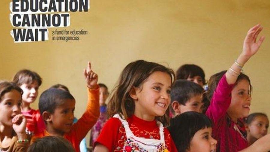 Quỹ toàn cầu cho GD trong trường hợp khẩn cấp tiếp cận được 3,5 triệu trẻ em