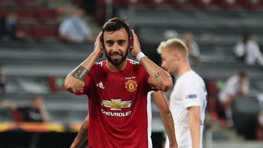 M.U giành vé vào bán kết Europa League sau trận khổ chiến