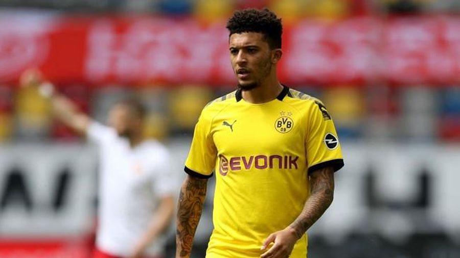 Dortmund tuyên bố gia hạn với Sancho, M.U hụt 'bom tấn'?