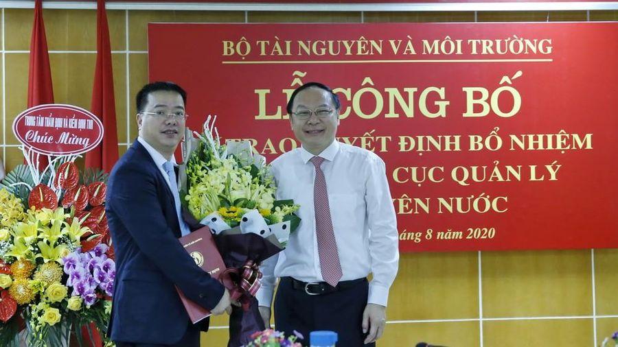 Bộ Tài nguyên và Môi trường bổ nhiệm Cục trưởng mới