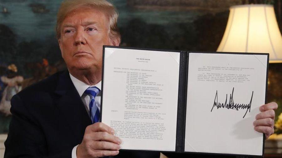 Thỏa thuận hạt nhân Iran tiến gần đến nguy cơ sụp đổ