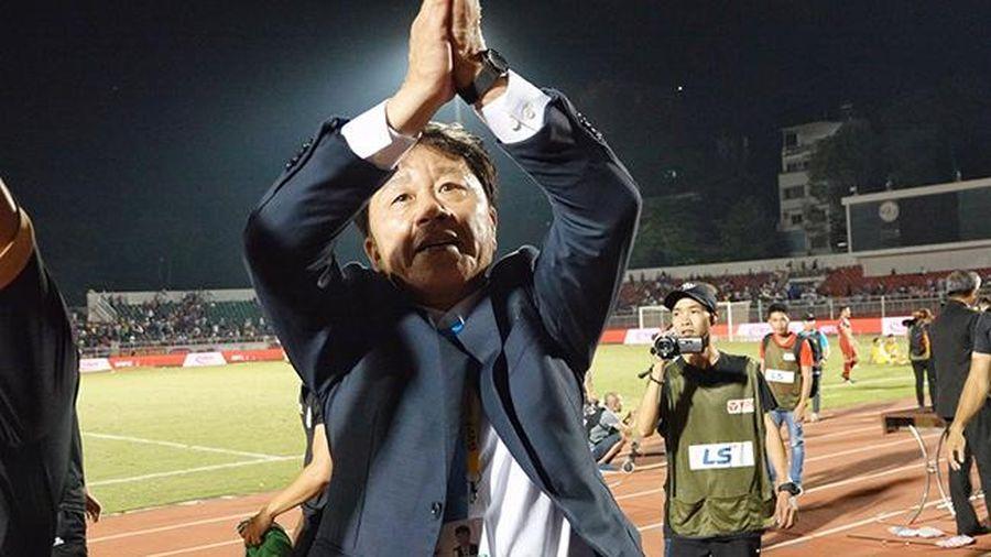 HLV Chung Hae Seong trở lại ghế nóng sau 2 tuần... mất chức