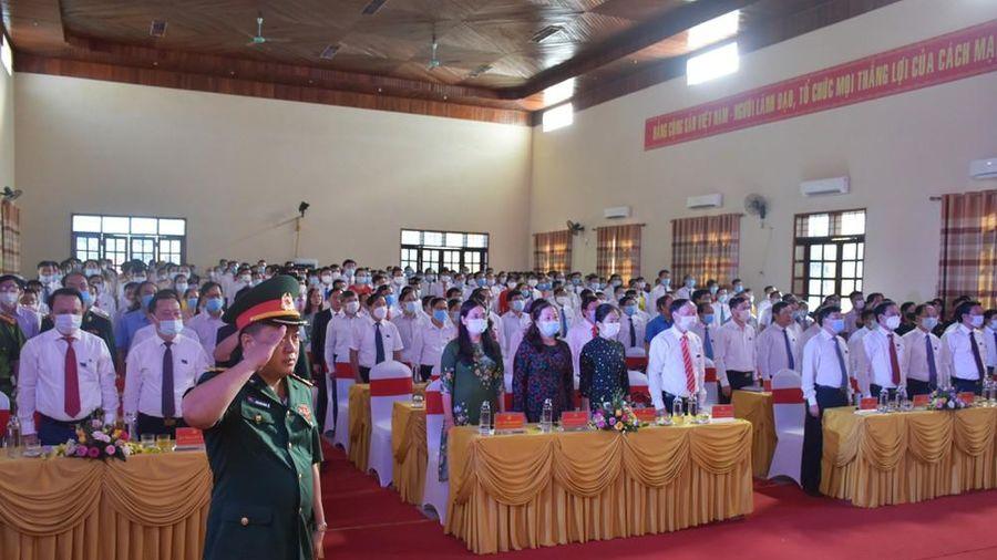 Khai mạc phiên chính thức Đại hội đại biểu Đảng bộ huyện Quỳnh Lưu nhiệm kỳ 2020-2025