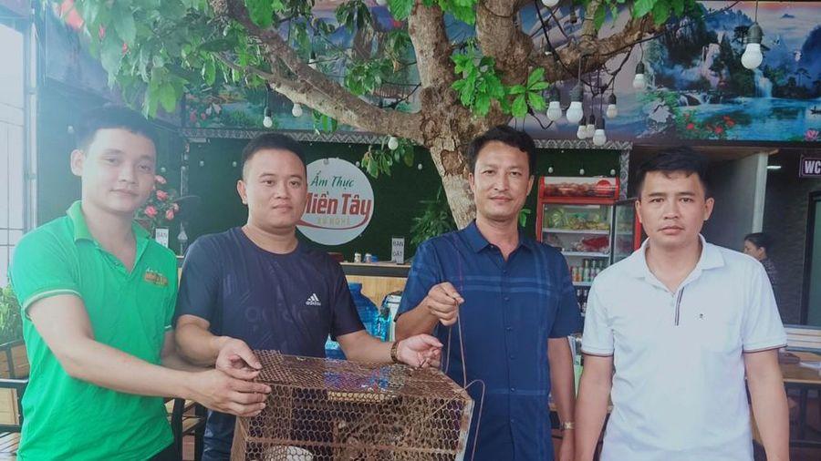 Nhà hàng ẩm thực Miền Tây Xứ Nghệ bàn giao động vật hoang dã cho vườn Quốc gia Pù Mát