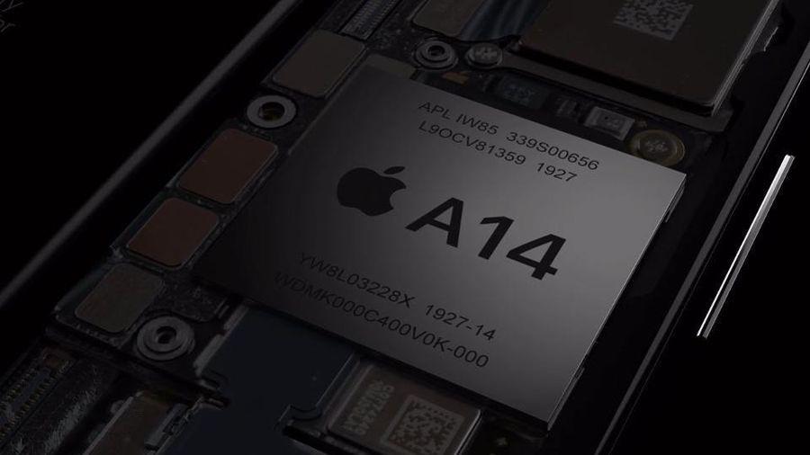 Chip A14 Bionic trên iPhone 12 lớn hơn 40% so với A13 Bionic