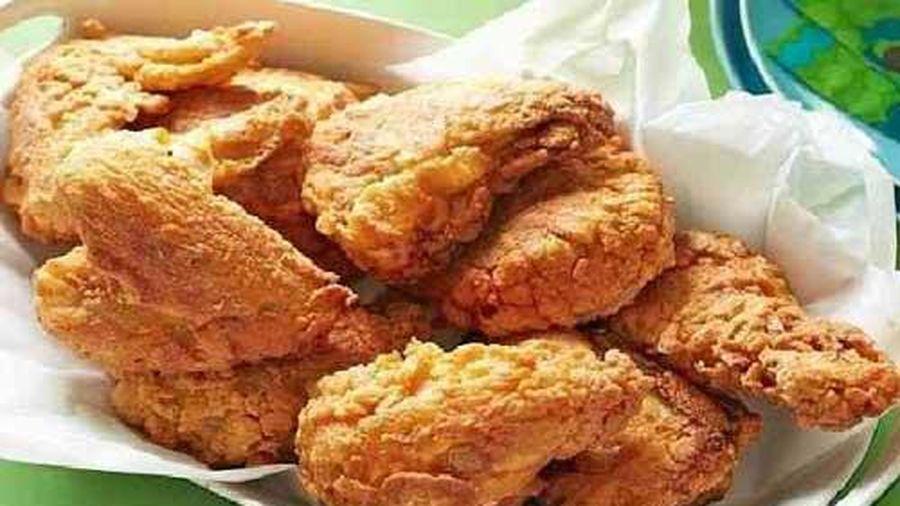 Không phải bột mì, thêm loại bột này mới giúp gà rán giòn rụm giống KFC 'như đúc'