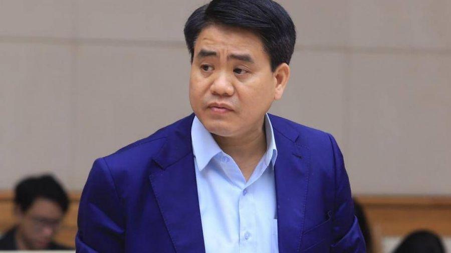 Ông Nguyễn Đức Chung bị đình chỉ sinh hoạt Đảng và chức Phó bí thư Thành ủy