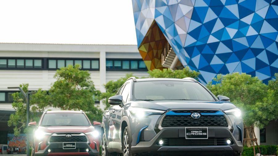 Toyota Corolla Cross - 'CUV lùn' đối đầu những Mazda CX-5, Ford Ecosport, Hyundai KONA,...