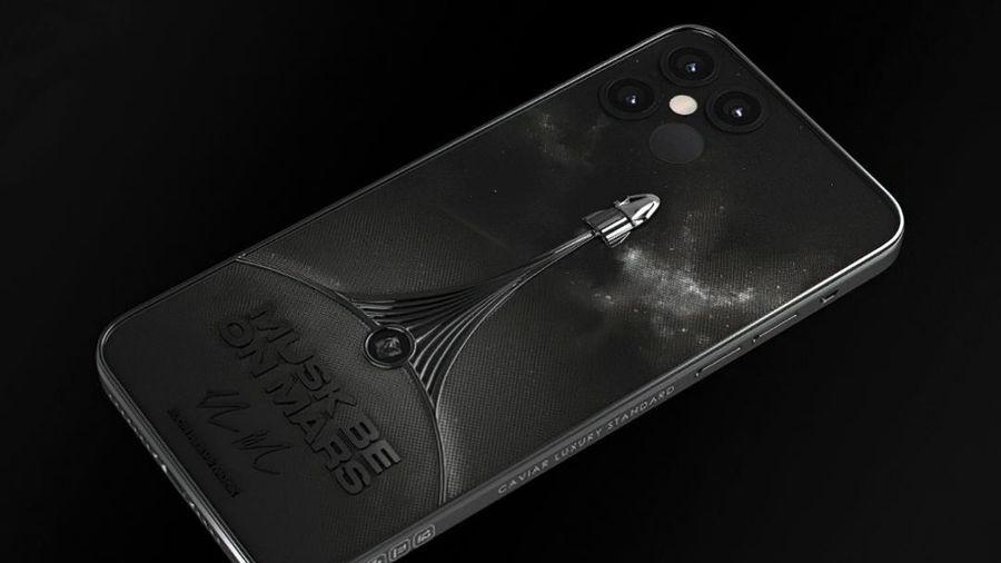 iPhone 12 Pro phiên bản tàu vũ trụ SpaceX, giá hơn trăm triệu đồng