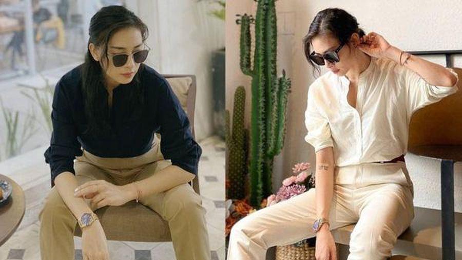 Học cách phối style công sở đơn giản mà chất lừ của Ngô Thanh Vân