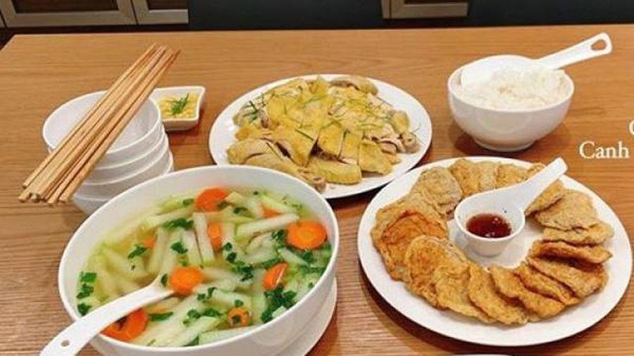 Mẹ Việt ở Mỹ đam mê và hạnh phúc khi được nấu món ăn quê nhà