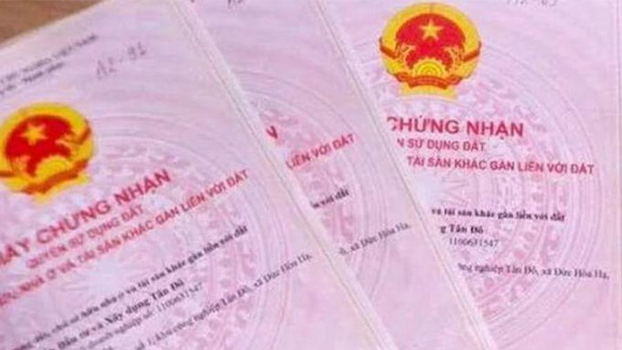 Nha Trang: Cấp 908 giấy chứng nhận quyền sử dụng đất lần đầu