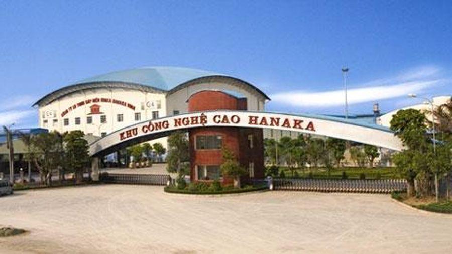 Điều chỉnh quy hoạch Khu công nghiệp Hanaka (Bắc Ninh): Tăng diện tích cây xanh, mặt nước