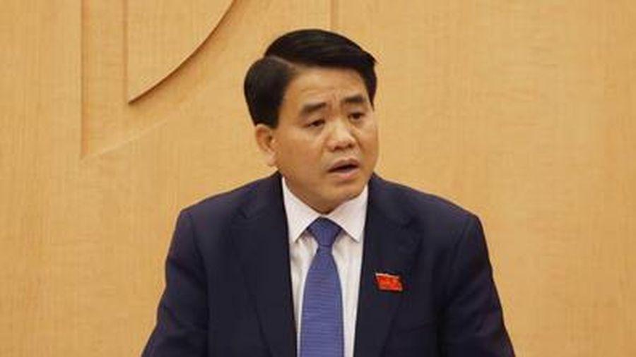 Theo điều tra ban đầu, ông Nguyễn Đức Chung có liên quan đến 3 vụ án