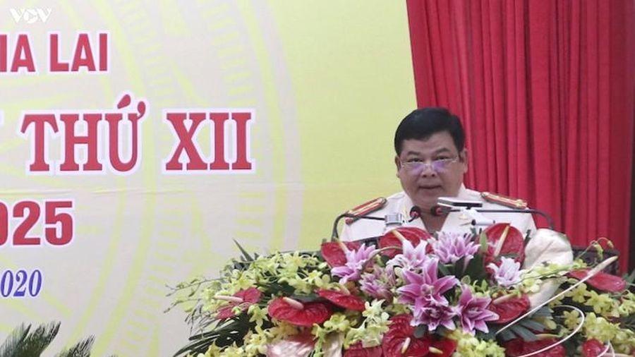 Đại tá Rah Lah Lâm tái đắc cử Bí thư Đảng ủy Công an tỉnh Gia Lai