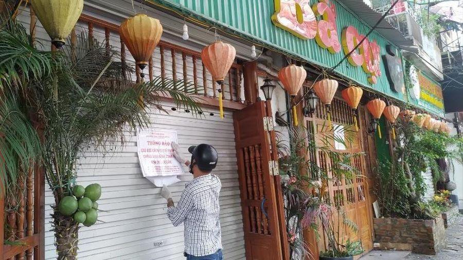 Đóng cửa, cách ly quán Bánh đa Bà Cụ vì liên quan đến BN816