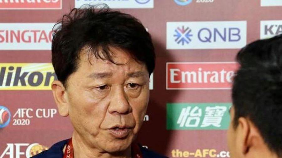 HLV Chung Hae Seong trở lại dẫn dắt CLB TPHCM sau 2 tuần mất chức