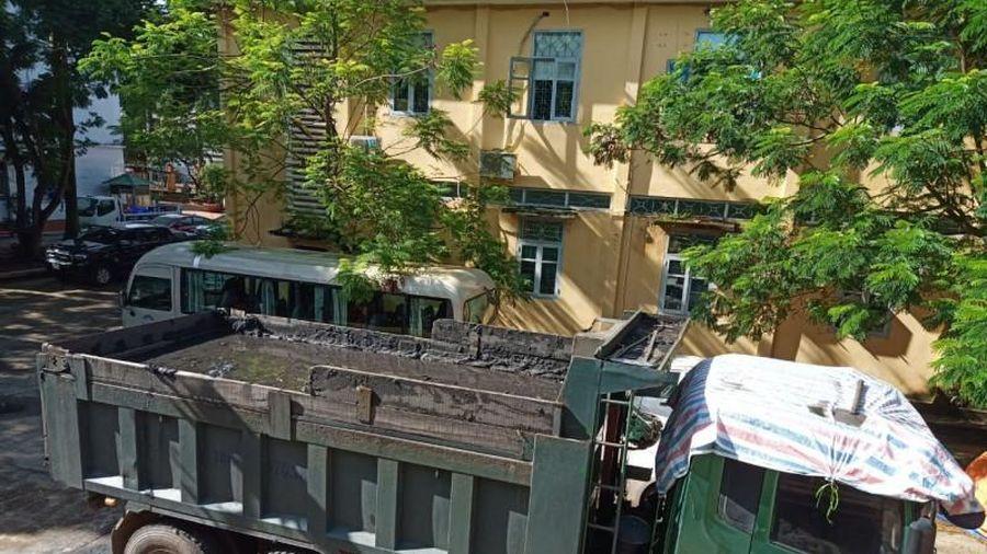 Quảng Ninh: Xe chở than đâm trọng thương CSGT Quảng Yên