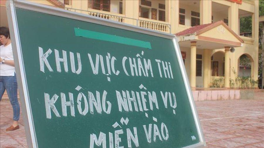 Hà Nội: Điều động hơn 500 giáo viên chấm thi tốt nghiệp trung học phổ thông