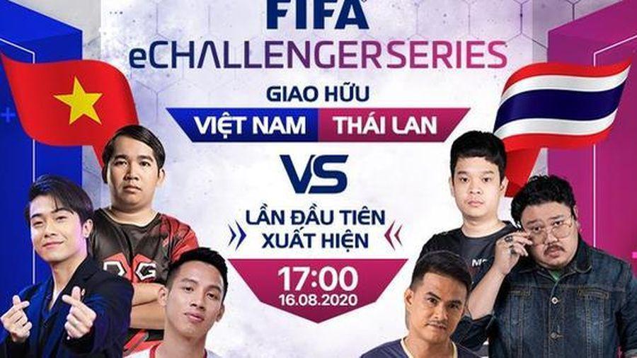 Hùng Dũng, Cris Devil Gamer, Vermisse đại diện Việt Nam thi đấu FIFA Online 4 với Thái Lan tại FIFA eCHALLENGER