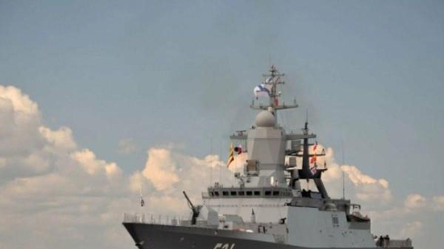 Tàu chiến Nga tiến vào Biển Azov khiến hạm đội Ukraine lo lắng