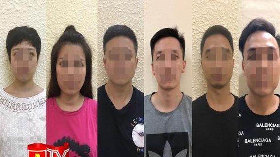 Phát hiện nhóm thanh niên mở tiệc sinh nhật bằng ma túy trong chung cư