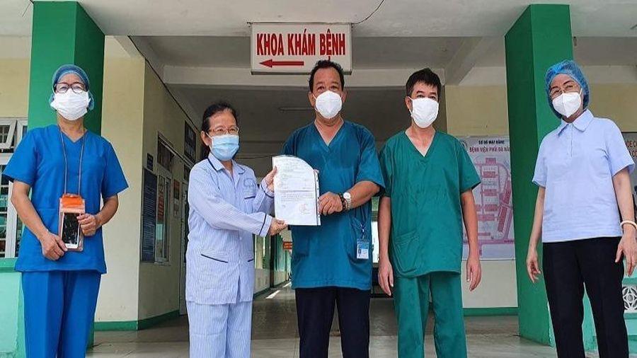 Đà Nẵng thêm 1 bệnh nhân COVID-19 khỏi bệnh và xuất viện