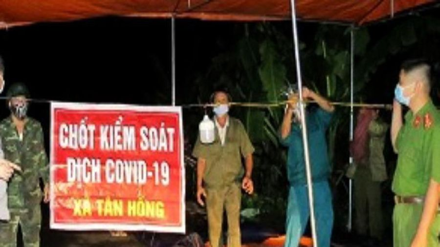 Hải Dương phong tỏa 1 thôn, 1 quán ăn vì ca nghi nhiễm mới