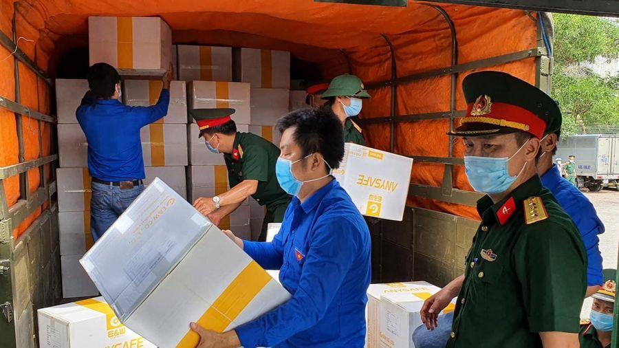 Bộ Y tế chi viện vật tư lần 2 cho Đà Nẵng