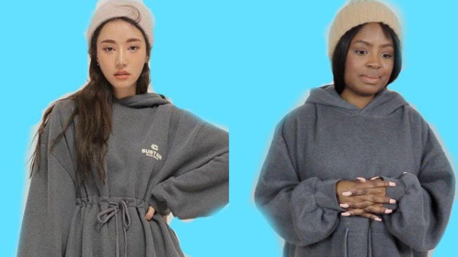 Cô gái Tây thử mặc quần áo theo phong cách Hàn Quốc