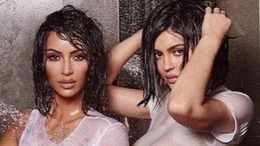 Bức ảnh gây tranh cãi của Kim Kardashian và Kylie Jenner