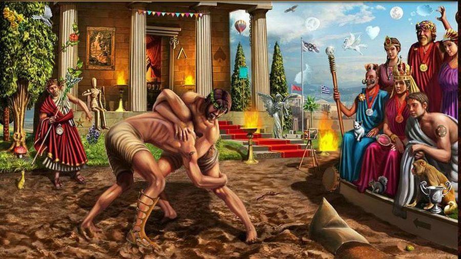 Ngỡ ngàng thú tiêu khiển có '1-0-2' thời Ai Cập cổ đại