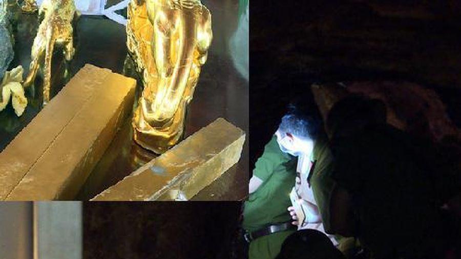 Vụ 'nhà ngoại cảm' Vũ Thị Hòa bị bắt: Cận cảnh 27 tấn 'vàng' trong hầm bí mật sâu 30m