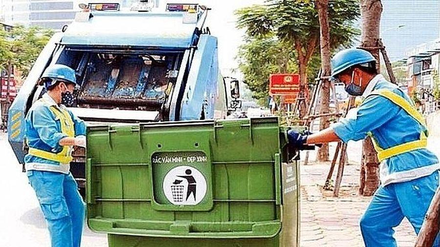 Đảm bảo vệ sinh môi trường Thành phố phục vụ các hoạt động kỷ niệm 1010 năm Thăng Long- Hà Nội