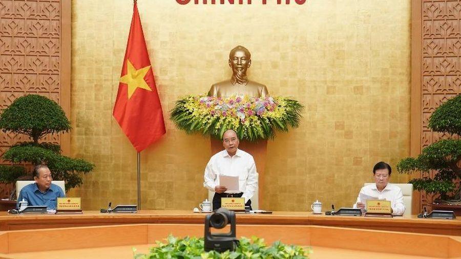 Khai mạc phiên họp Chính phủ chuyên đề xây dựng pháp luật