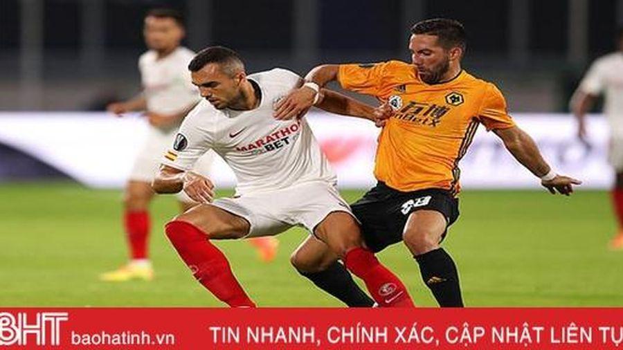 Kết quả Wolves 0-1 Sevilla: Đá hỏng 11m, Jimenez và đồng đội ngậm ngùi rời Europa League