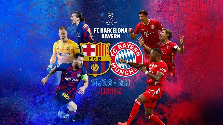 Lịch thi đấu và truyền hình trực tiếp vòng tứ kết Champions League